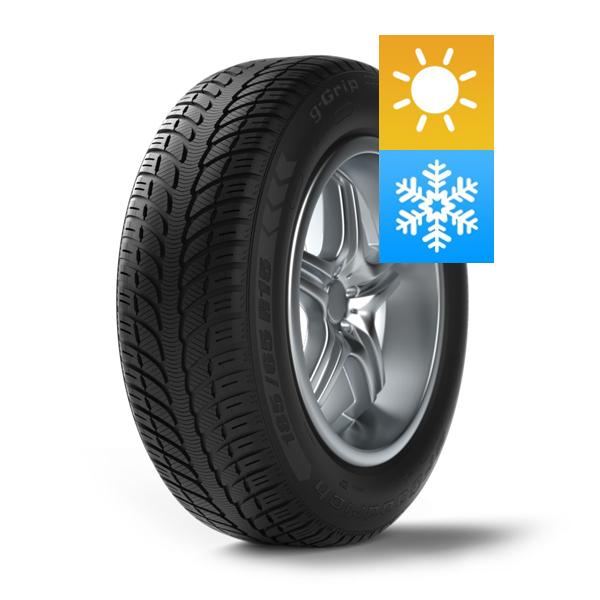 165/70R14 BFGOODRICH G-GRIP ALL SEASON GO 81T